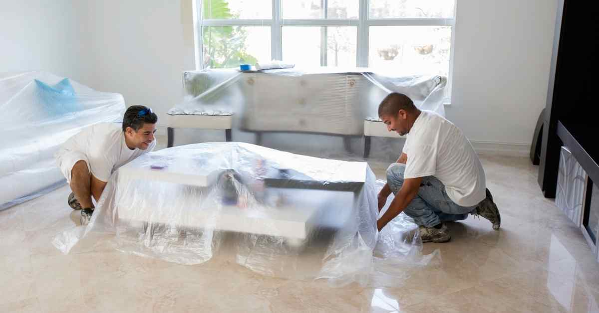 How To Mask A Room For Spray Painting in 5 Easy Steps